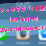 ハッシュタグは「#御堂筋」。 Instagramに投稿した今月の写真はこれだ!